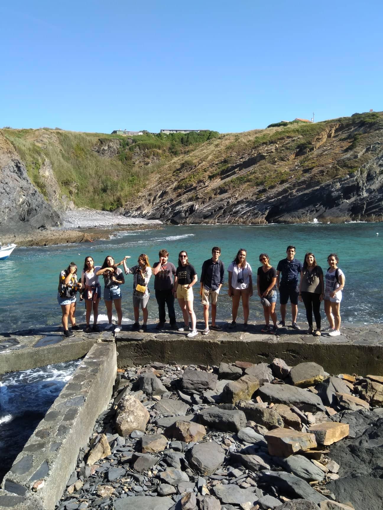 Visita de estudo (Porto das Barcas – disciplina de Ecoturismo)