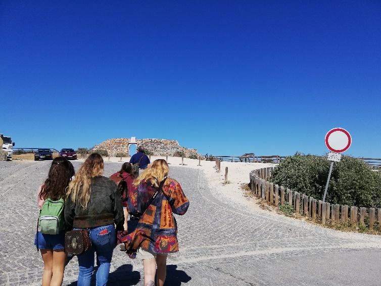 Visita de estudo (Aljezur – disciplina de Ecoturismo)