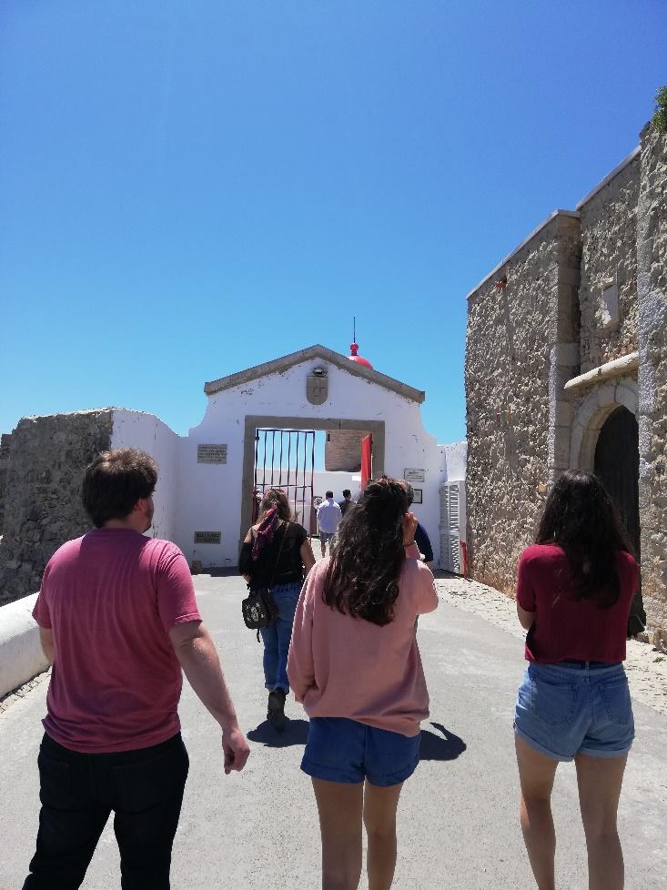 Visita de estudo (Cabo de S. Vicente – disciplina de Ecoturismo)