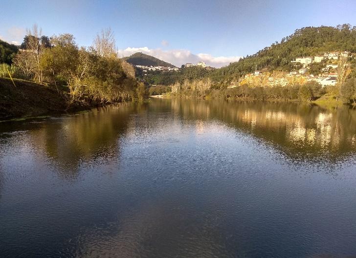 Visita de estudo (Bacia Hidrográfica do Mondego – disciplina de Avaliação Ambiental)